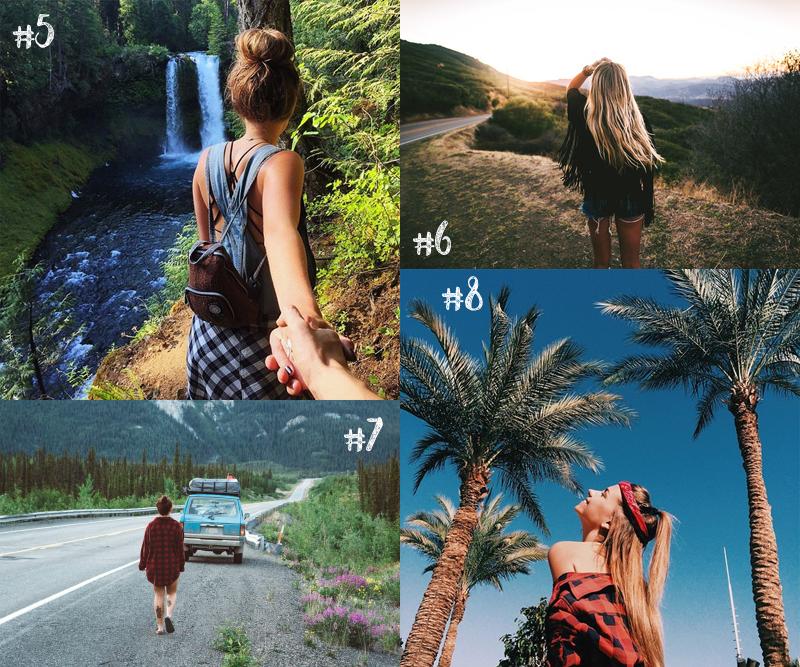Inspire-se! Ideias de fotos para tirar nas férias