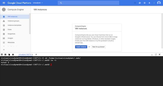 Walkthrough Tutorial : Compute Engine SSH Keys on Google Cloud