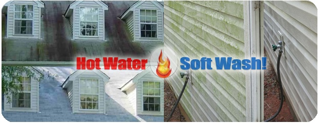 Pressure Washing homes & removing mold & algae in New Hampshire & Massachusetts