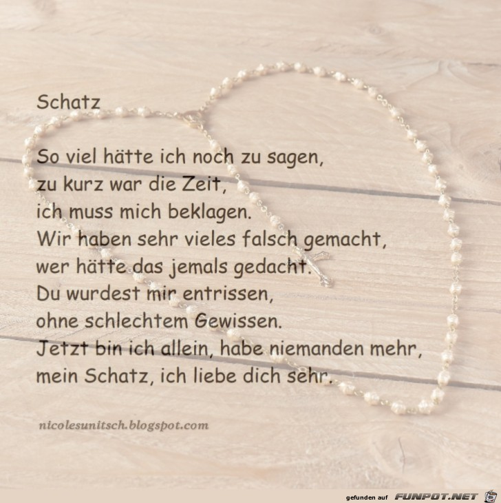 Gedichte Von Nicole Sunitsch Autorin Schatz Trauer