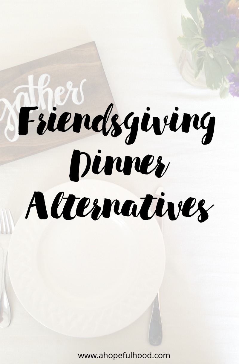 If a sit-down dinner with your friends isn't feasible, maybe one of these other fun Thanksgiving-themed gatherings could work. // via @ahopefulhood