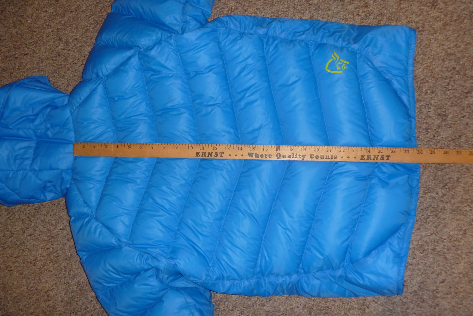 Cold Thistle: The Mont Bell Permafrost down jacket?