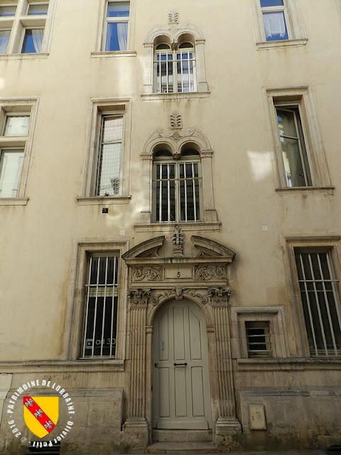 NANCY (54) - Hôtel des 2 Tritons (XVIe siècle)