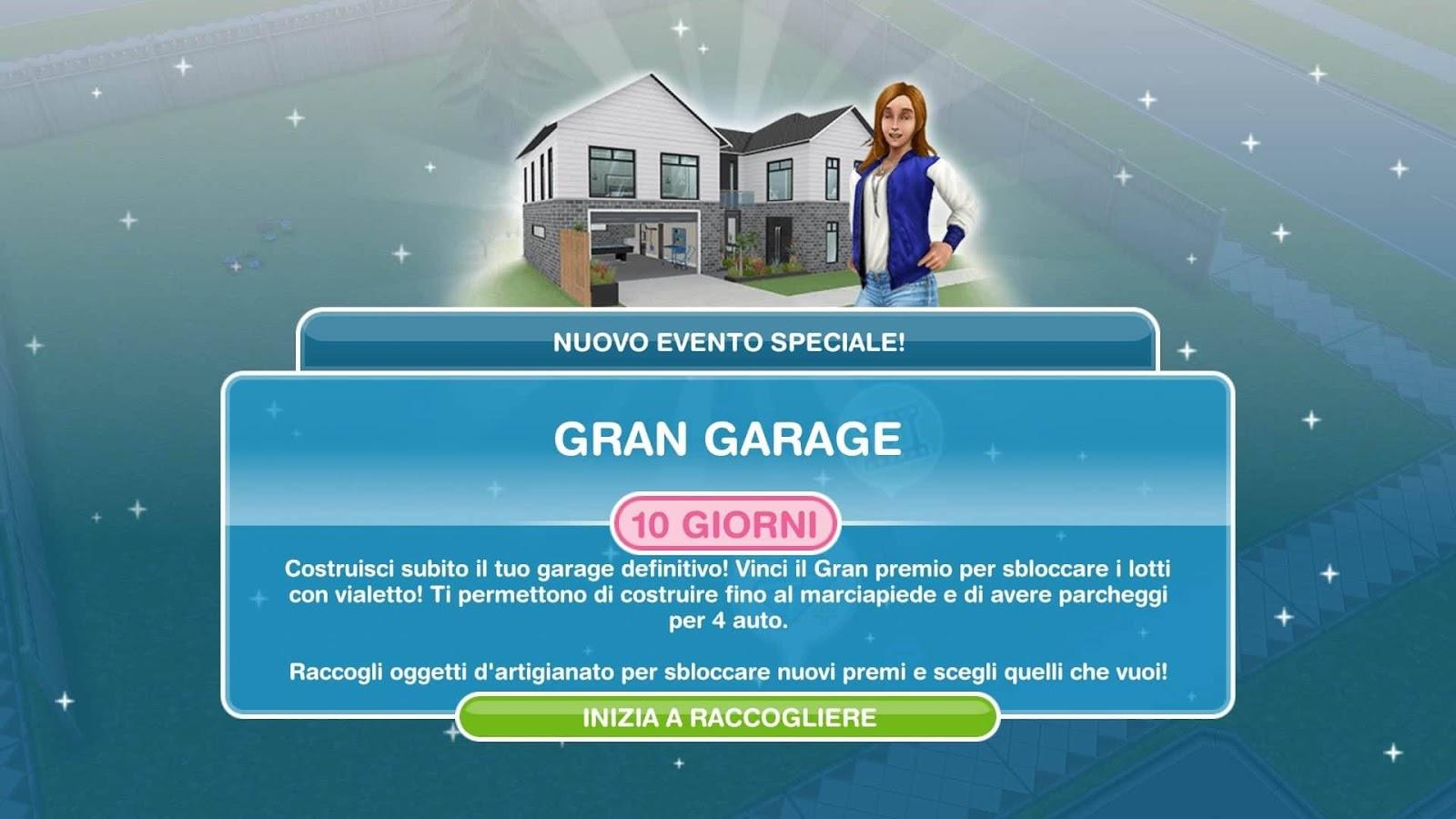 The Sims Freeplay It Gran Garage