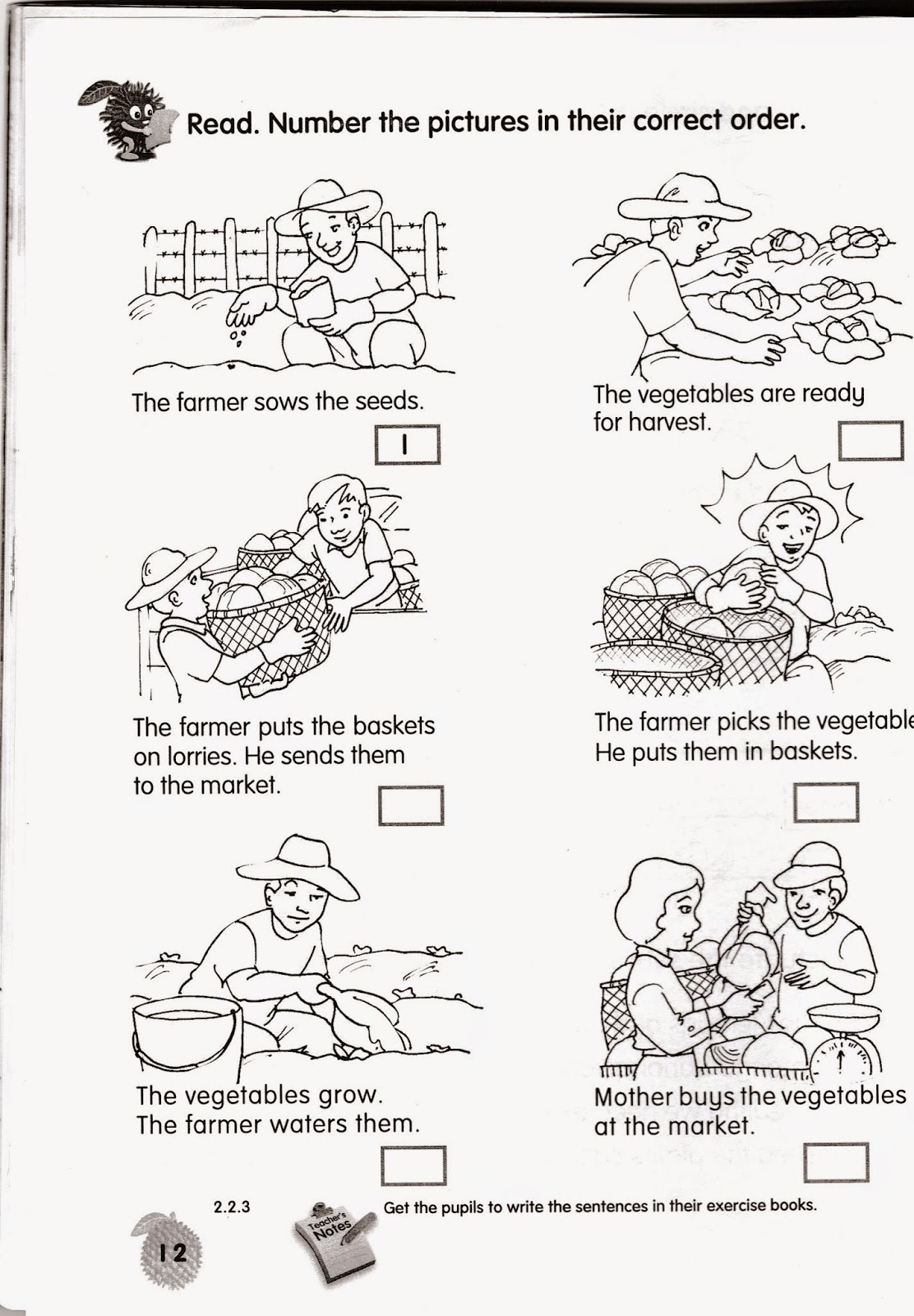 Being Healthy: Being Healthy: English Year 3 Exercises