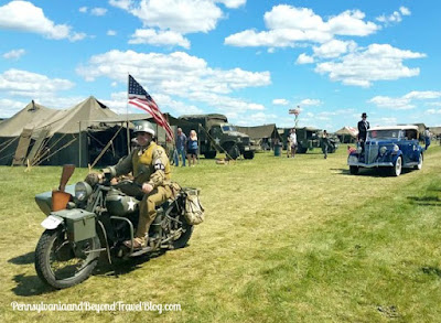 Mid-Atlantic Air Museum World War II Weekend in Reading Pennsylvania