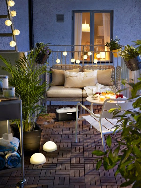 patio deck lighting ideas with balcony design | Tiny-Ass Apartment: The Balcony Scene: 7 tips for turning ...