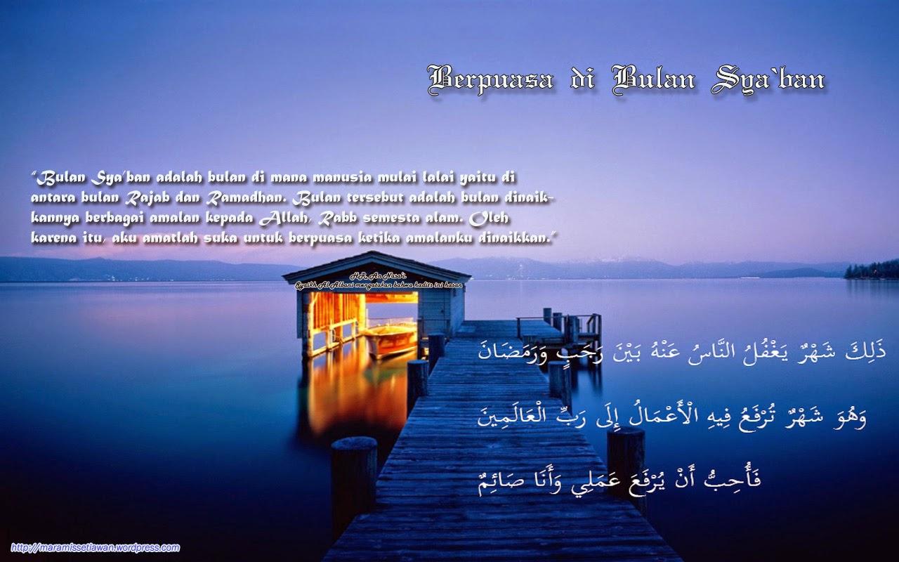 Shaum di Bulan Sya`ban