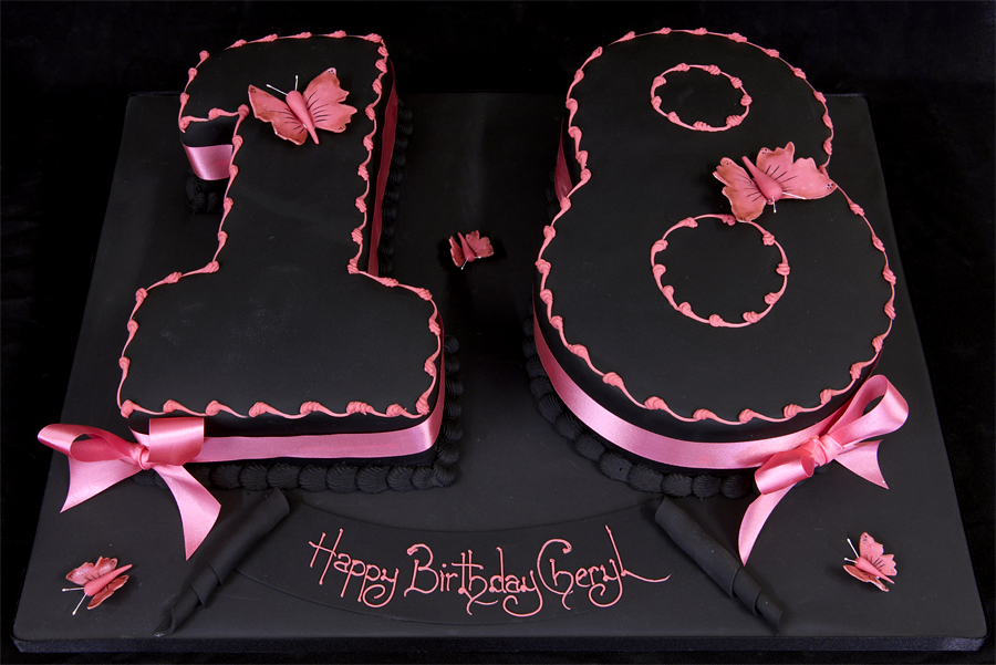 Birthday Cakes Love Shape