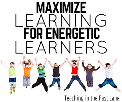 Do you have students who just can't seem to stay still? Embrace their movement and use it to help them learn!