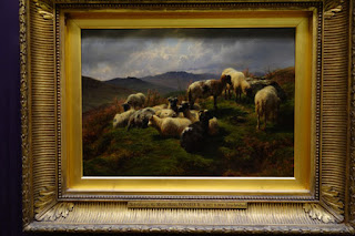 Wallace Collection London Sheep Painting by Marie Rosa Bonheur