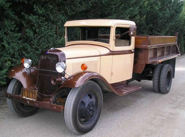 1934 ford dump truck old truck. Black Bedroom Furniture Sets. Home Design Ideas
