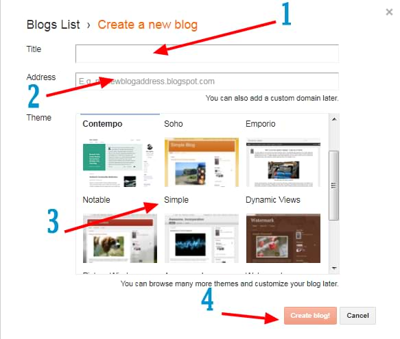 how to create blog on google, how to start blog on blogger, how to start blog on google