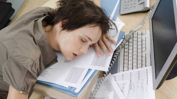 ngantuk berlebih ketika bekerja