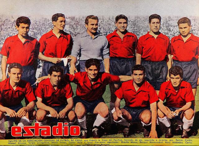 Formación de Chile ante Perú, Copa del Pacífico 1954, 17 de septiembre