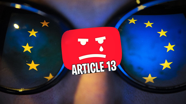 القانون الجديد الذي جائة به اليوتيوب العواقب المحتملة غير المقصودة من المادة 13