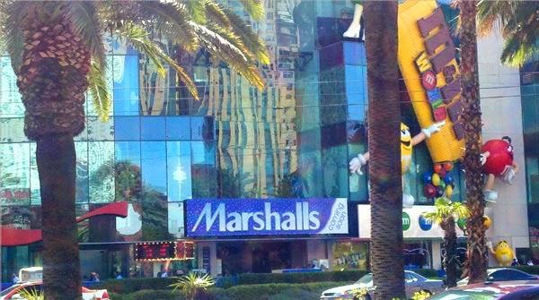 Loja Marshalls em Las Vegas Roupas