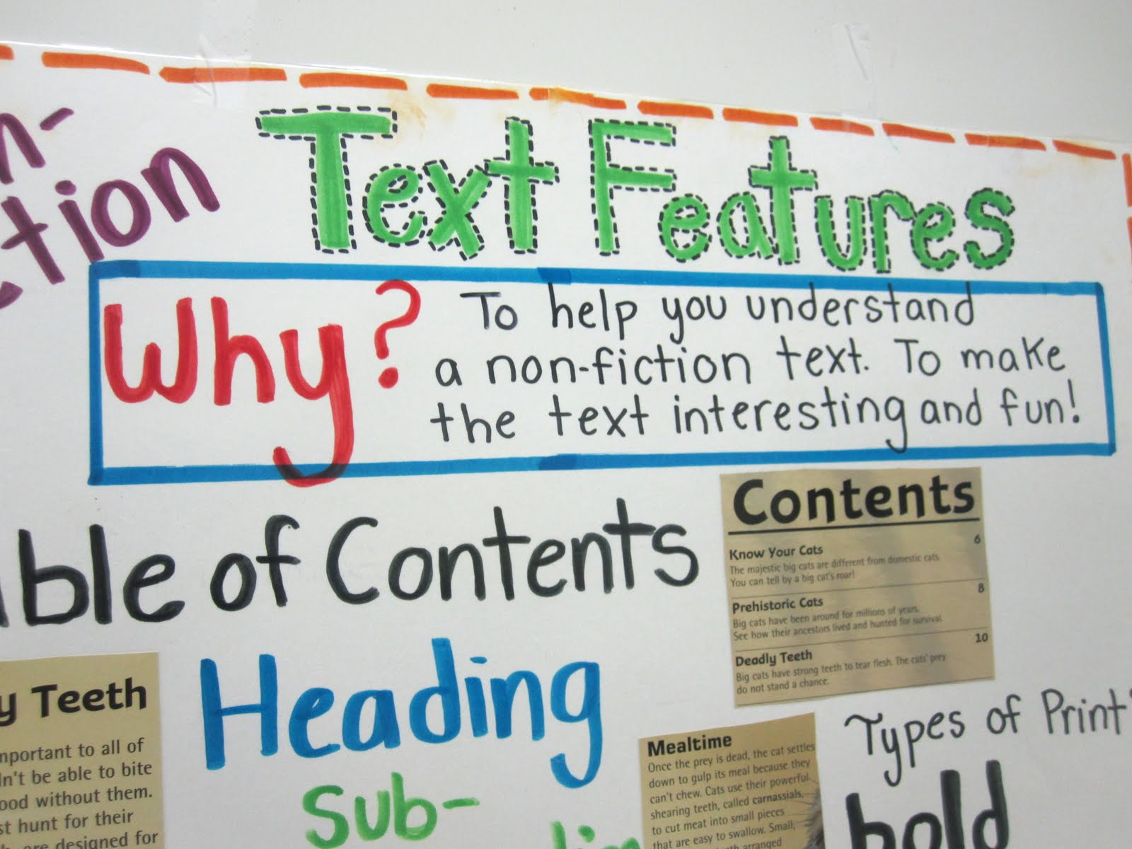 Worksheets Expository Text Features lessons tes teach whats happening in literacy expository text features