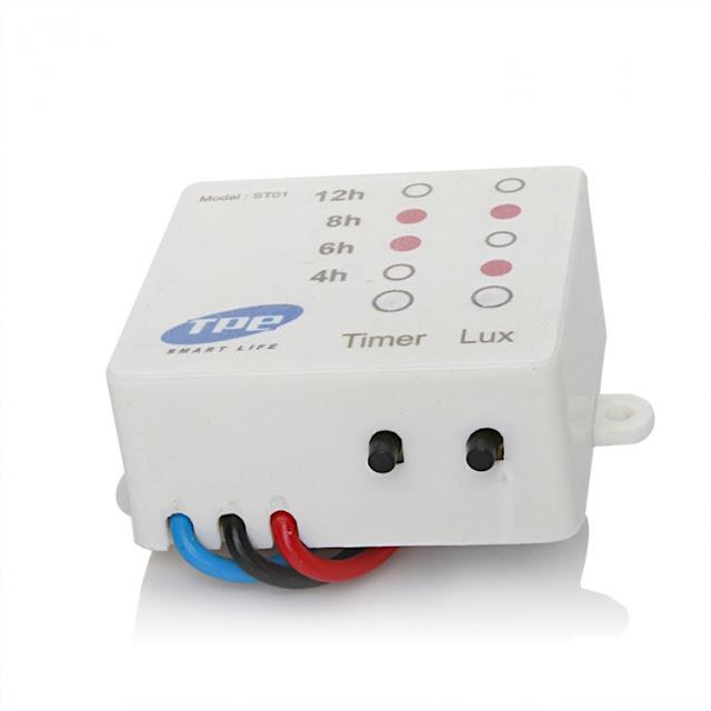 Sản phẩm công tắc cảm biến ánh sáng ST01