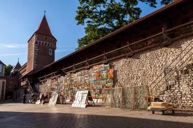cracovia-mura-medievali-poracci-in-viaggio