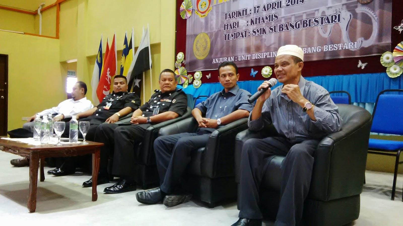 SMK Subang Bestari, Shah Alam, Selangor, PP Muhammad Nazri Nasaruddin, Parol Negeri Selangor, Jabatan Penjara Malaysia