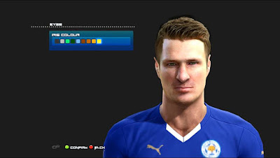 PES 2013 Robert Huth - Leicester City F.C. Face by Nadir Facemaker