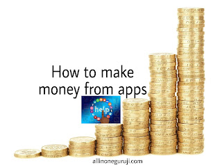 How to make money from apps