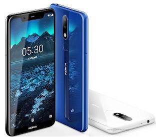 Harga HP Nokia 5.1 Plus (Nokia X5), Spesifikasi Dua Kamera 13MP + 5MP
