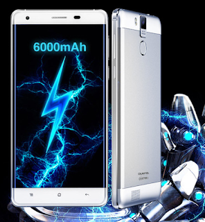 Oukitel K6000 Pro 4G Features 6000 mAh Battery, 3GB Ram 32GB Rom