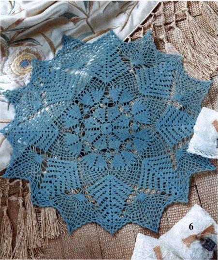 Napperon bleu tendance marine