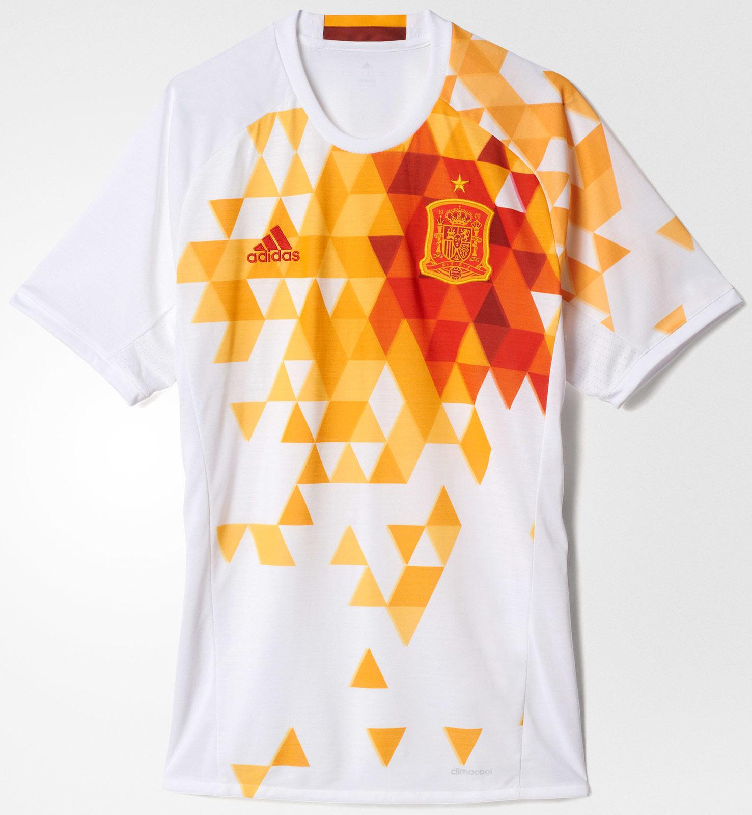 0a00eb22e5 Adidas lança nova camisa reserva da Espanha - Show de Camisas
