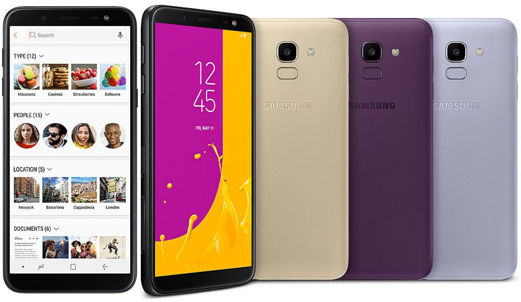 Galaxy J6 SM-J600F with Specifications