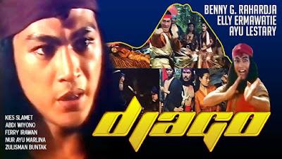 Download Film Indonesia Klasik Djago (1990) Gratis, Sinopsis Film dan Nonton Film Online Gratis, Download Film Klasik Via Google Drive, Film Jadul Langka Indonesia Era Tahun 80an - 90an.