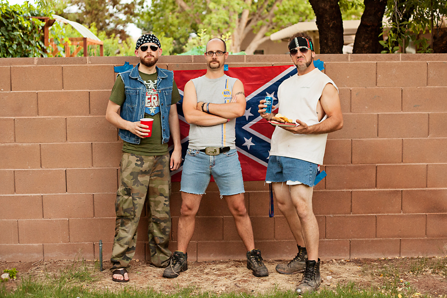 white trash bash, white trash costume ideas, white trash party ideas, male costumes, couples costumes