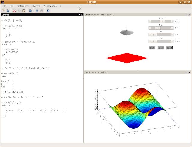 Scilab screenshot
