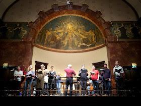 John Butt & the Dunedin Consort in rehearsal at the Wigmore Hall (photo Dunedin Consort)