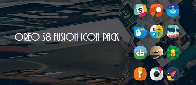 Fusion UI – Android™ Oreo S8 Icon Pack apk indir