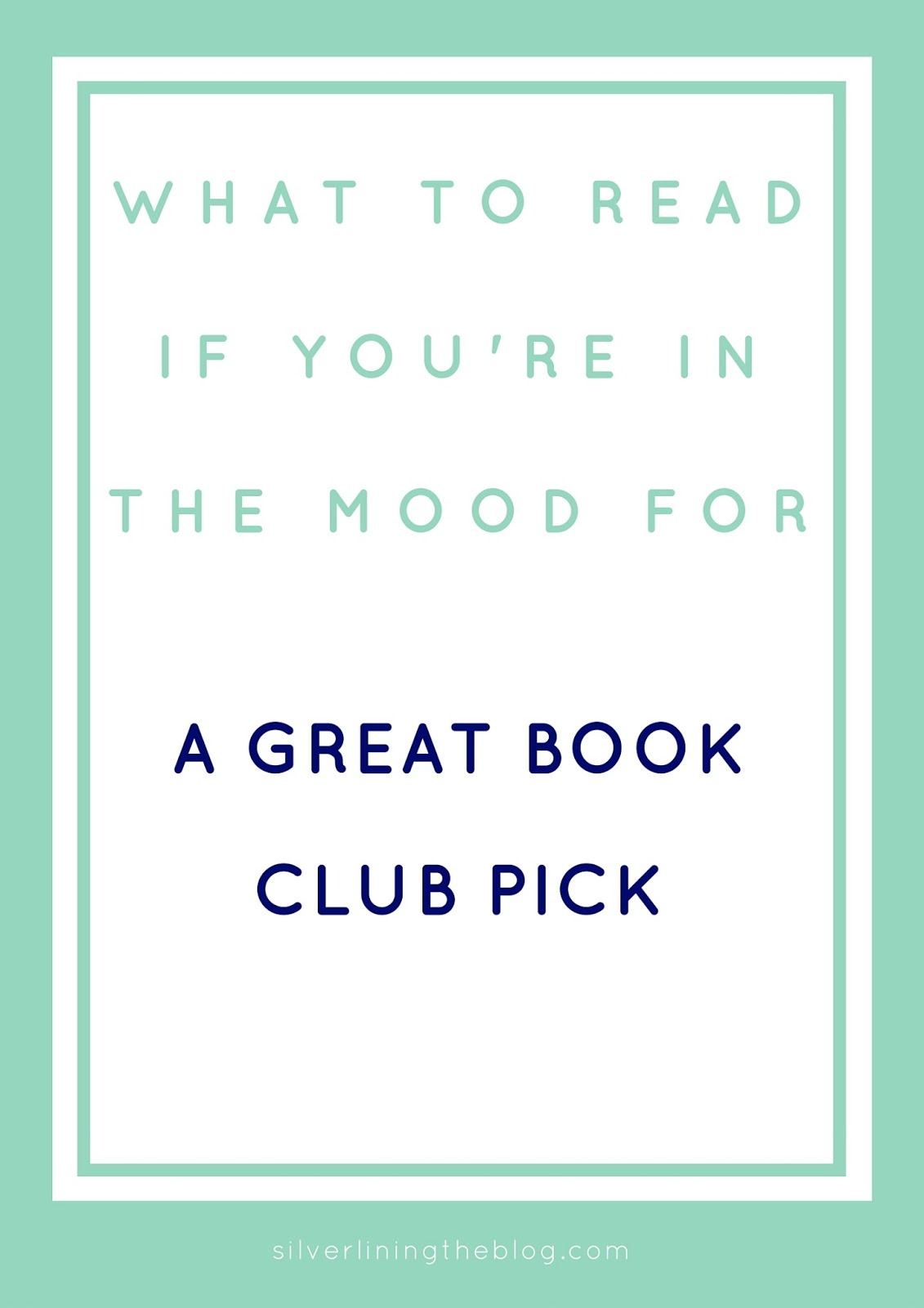 Need a great, easy fiction read that everyone loves for book club? This is a great list of modern fiction novels that lend themselves to great book club discussion.