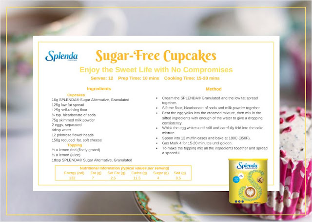 RECIPE: Sugar-Free Cupcakes