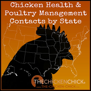 Chicken Health & Poultry Management Contacts by State