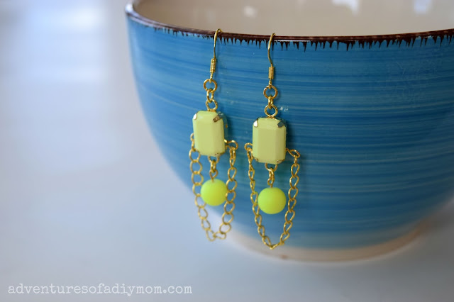 How to Make Neon Pop Earrings