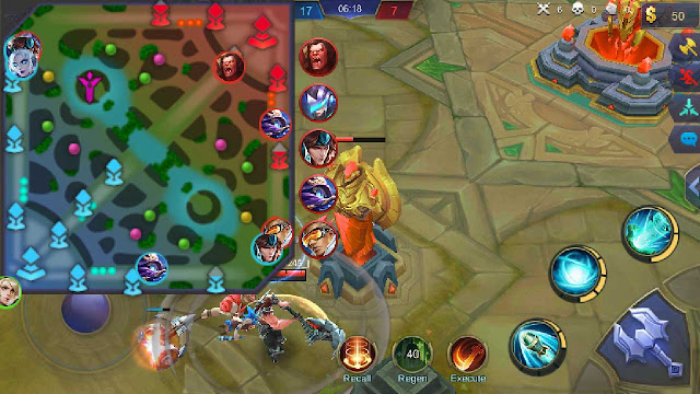 cheat mobile legend mini map gratis