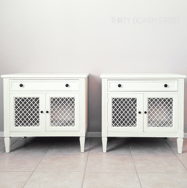 diy furniture, repurposed furniture, furniture makeover, refinished white furniture, diy chalk paint