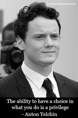 Anton Yelchin Quote