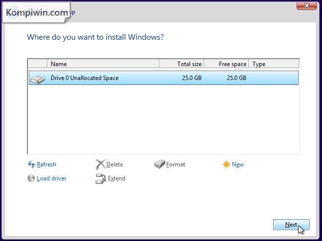 Cara Instal dan Instal Ulang Windows 10, 7, 8, 8.1 lewat Flashdisk/DVD + Video Tutorial 6