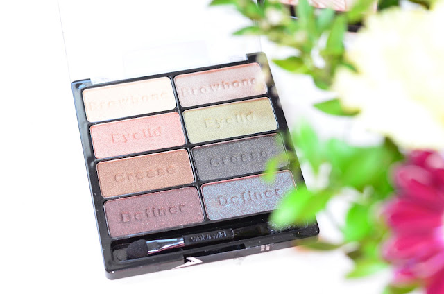 Wet&Wild Color Icon Collection eyeshadow 8 color palette Е738 comfort zone