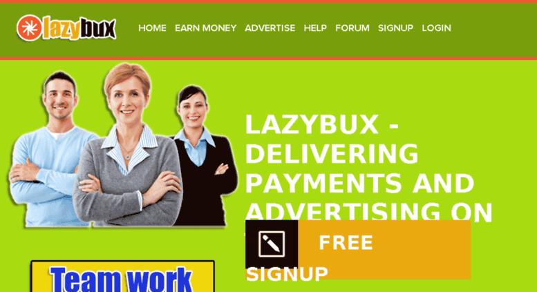 Hướng dẫn kiếm tiền online với Lazybux - Kiếm tiền bằng click quảng cáo