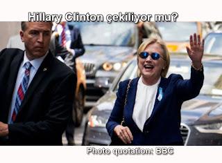 Hillary Clinton çekiliyor mu?