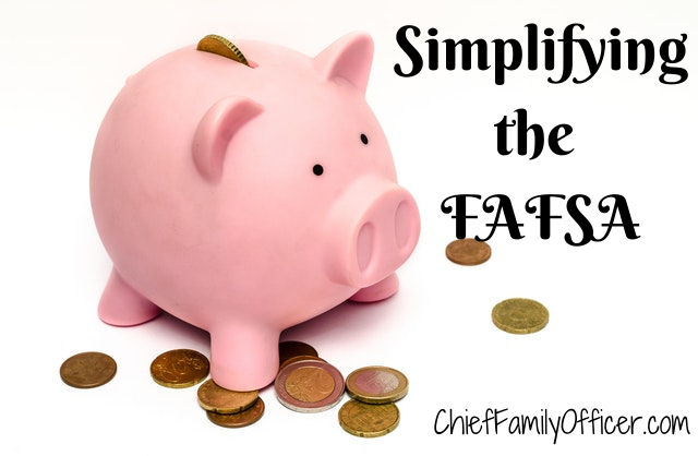Simplifying the FAFSA