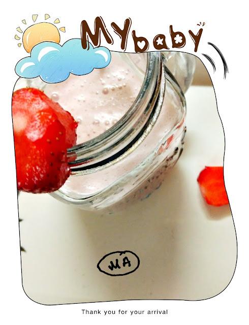 #Healthystrawberryshake...